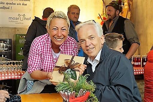 Reinhard Steger am Moarhof